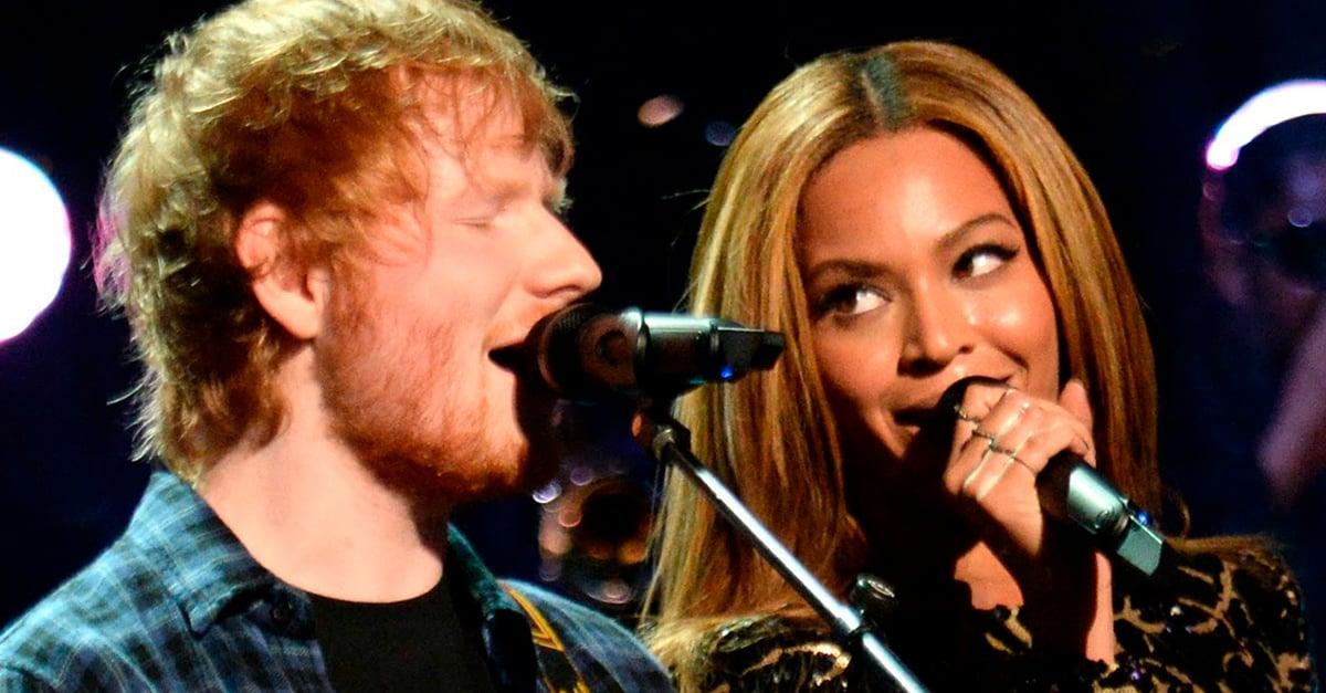 El dueto de Beyoncé y Ed Sheeran nos está haciendo llorar de felicidad