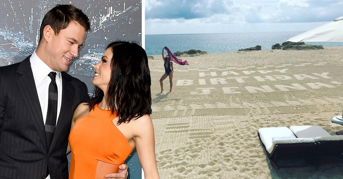 Channing Tatum sorprende a su esposa con un fabuloso regalo de cumple