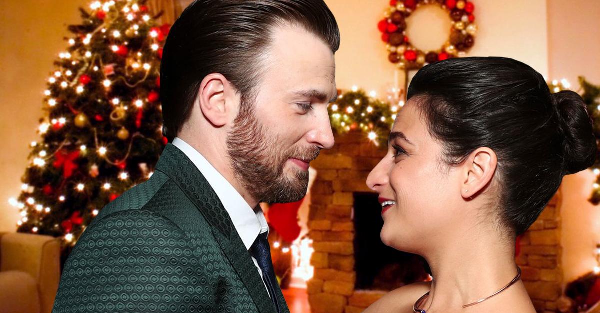 Chris Evans y Jenny Slate pasaron la Navidad juntos