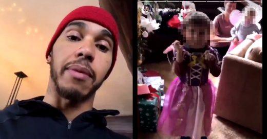 Corredor de la Fórmula 1 recibe críticas tras hacerle bullying a su sobrino por vestirse como princesa