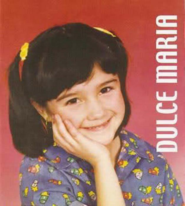 Cantante dulce Maria a través de los años