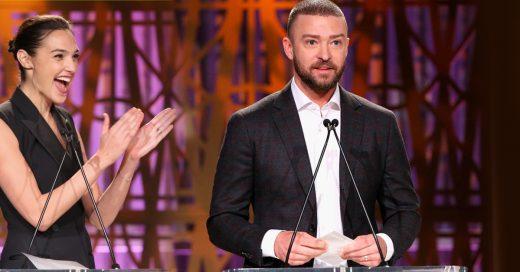 Justin Timberlake celebra el empoderamiento femenino con un discurso estremecedor