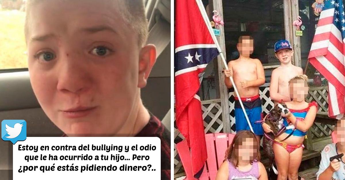 El lado negativo del video de Keaton Jones: su madre es racista y busca provecho