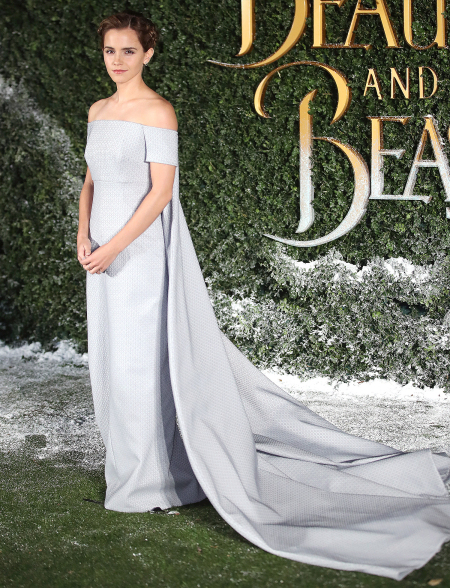 Emma Watson Beauty and the Beast estreno