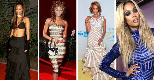 Evolución de estilo de Tyra Banks; el antes y el después de un ícono de la moda