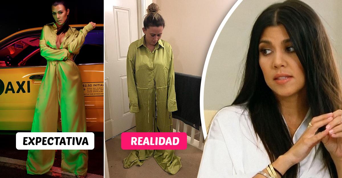 Las fans de Kourtney Kardashian están decepcionadas con su línea de rop