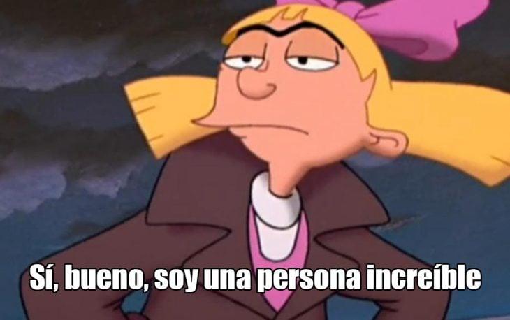 Helga G. Pataki de la caricatura de Hey Arnold!