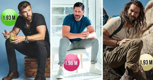 Los 15 actores más altos y guapos de Hollywood