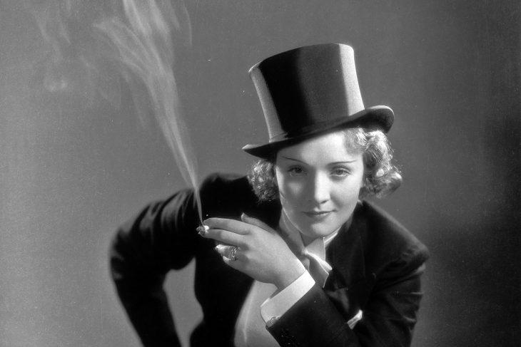 Doodle de Marlene Dietrich