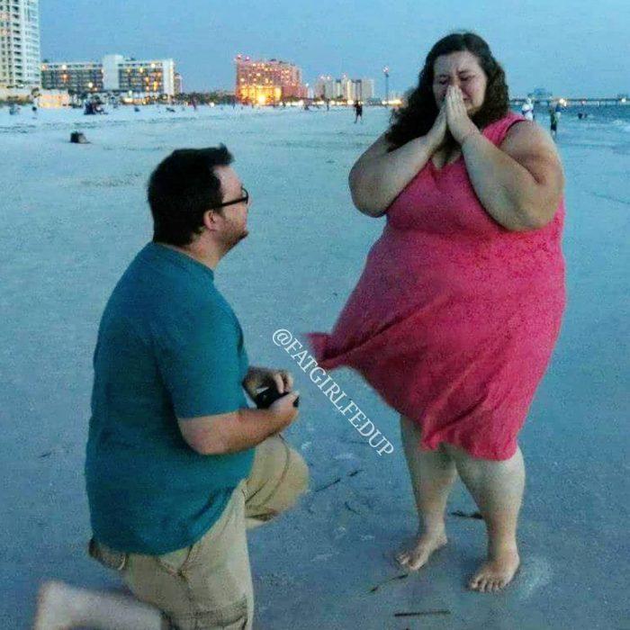 Pareja de chicos que han perdido 100 kilos juntos
