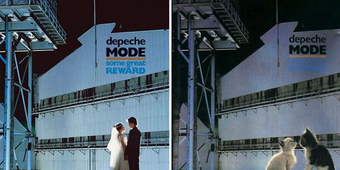 portada de disco de boda