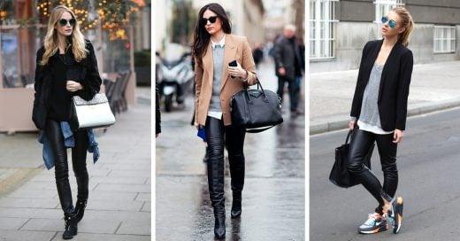 Reglas para usar pantalones de cuero