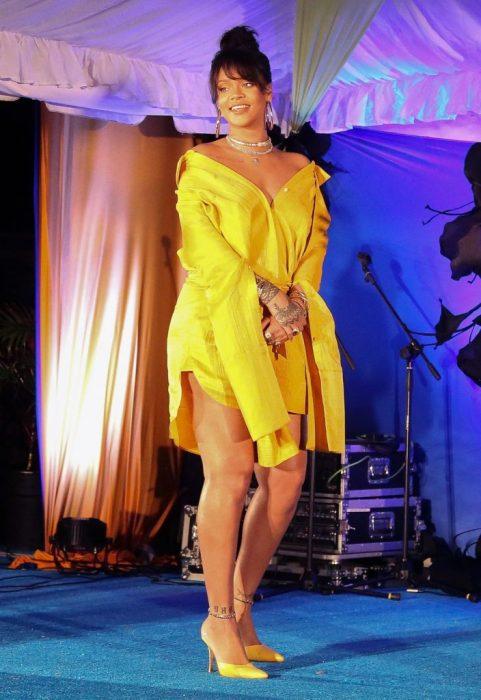 Rihanna Ceremonia De Nombramiento de su calle