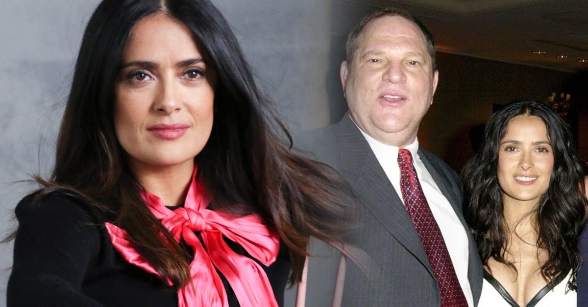 Salma Hayek habla sobre su experiencia de acoso con Harvey Weinstein