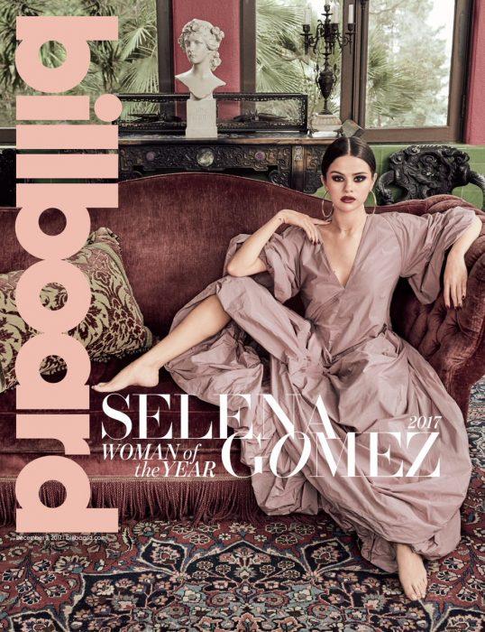 Selena gomez fue nombrada la mujer del año por Billboard