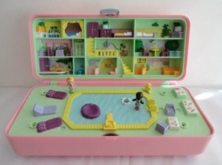 15 sets de polly pocket que te har n volver a ser ni a. Black Bedroom Furniture Sets. Home Design Ideas