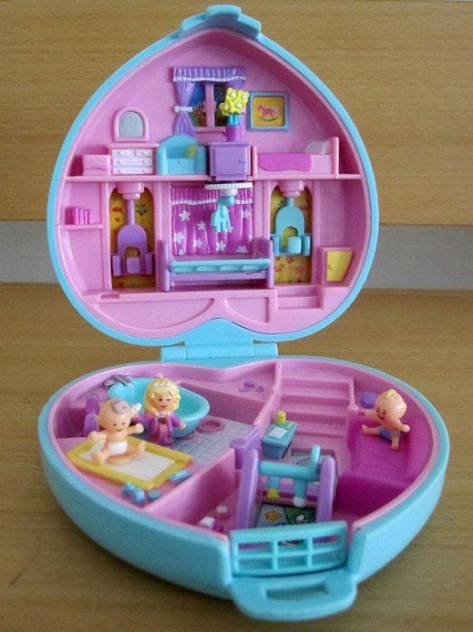 set de corazón Polly Pocket