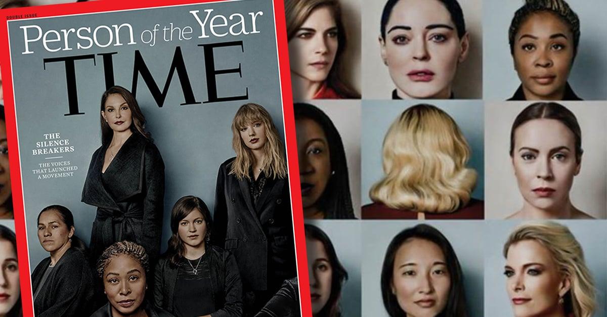 """TIME nombra """"Persona del año"""" a quienes denunciaron acoso"""