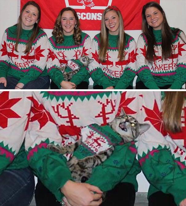 sueters navideños