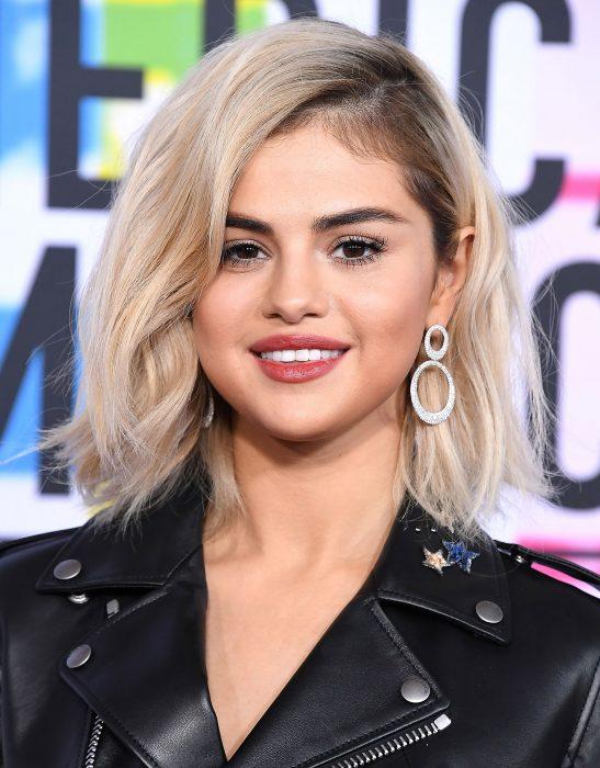 Selena Gomez sonriendo