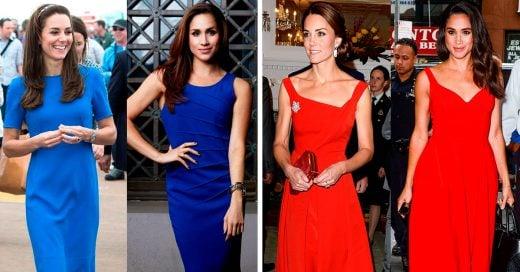 Veces que Kate Middleton y Meghan Markle se vistieron de manera muy parecida