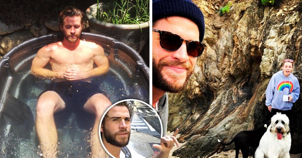 Veces que Liam Hemsworth nos hizo felices con sus publicaciones de Instagram este 2017
