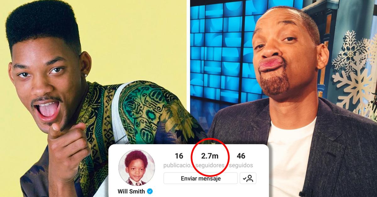 Will Smith se acaba de unir a Instagram y consiguió 2 millones de seguidores en un día; ha roto un record mundial