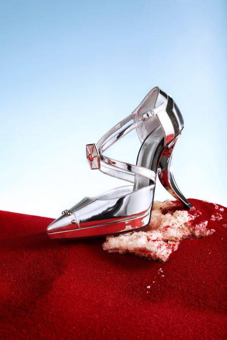 Zapatos diseñados por Loubutin en honor a la saga de Star Wars