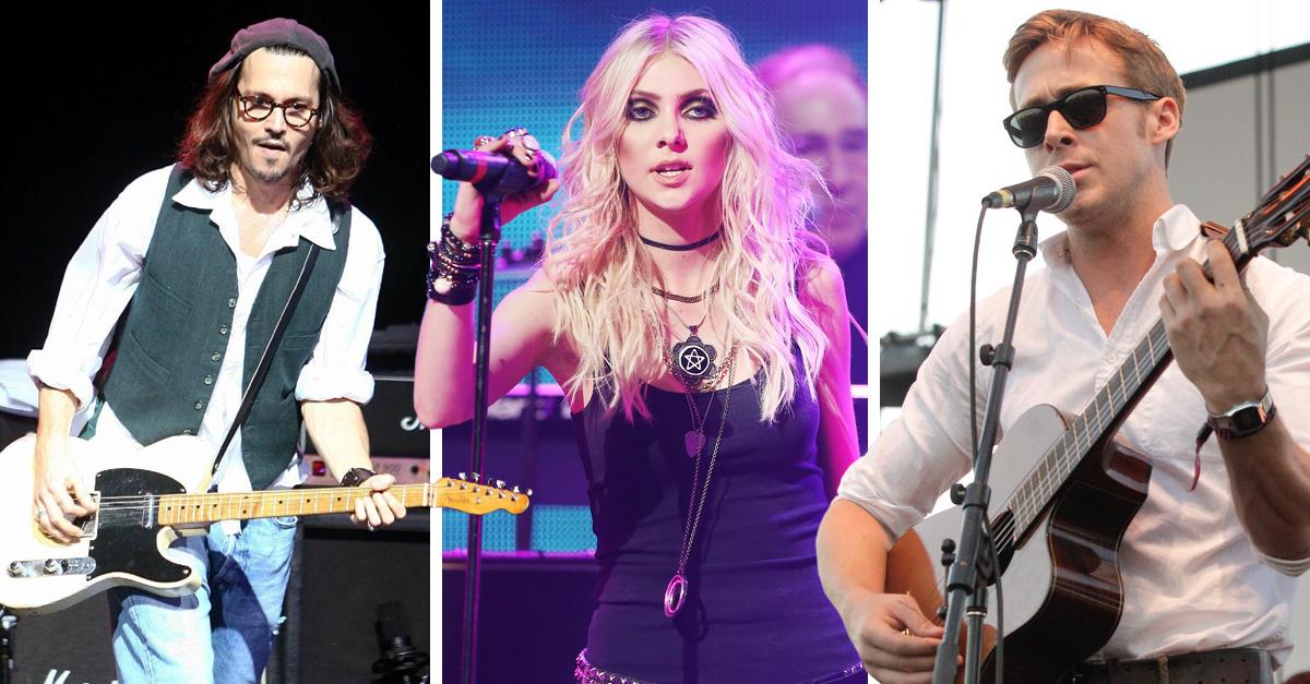 20 Celebridades que actúan pero también son músicos