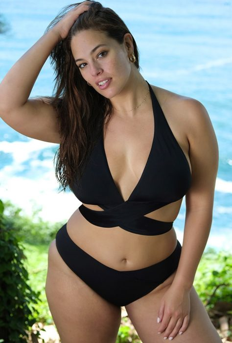 ashley graham traje de baño