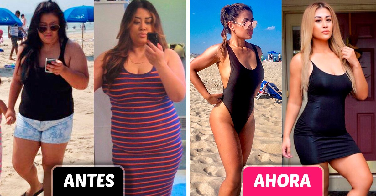 Mujer pierde 50 kilos para poder jugar con su hija y ahora participa en concursos de bikini
