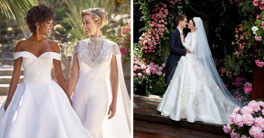 Estos 15 famosos celebraron las bodas más bonitas del 2017