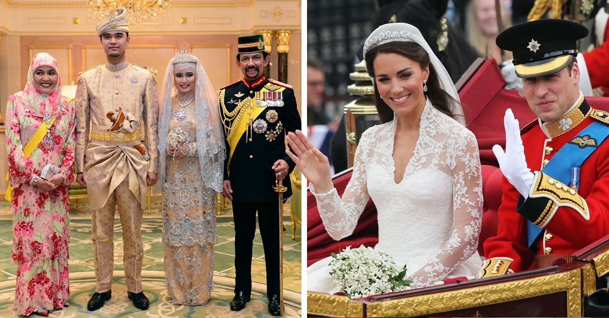 10 Sorprendentes bodas de la realeza que te sorprenderán