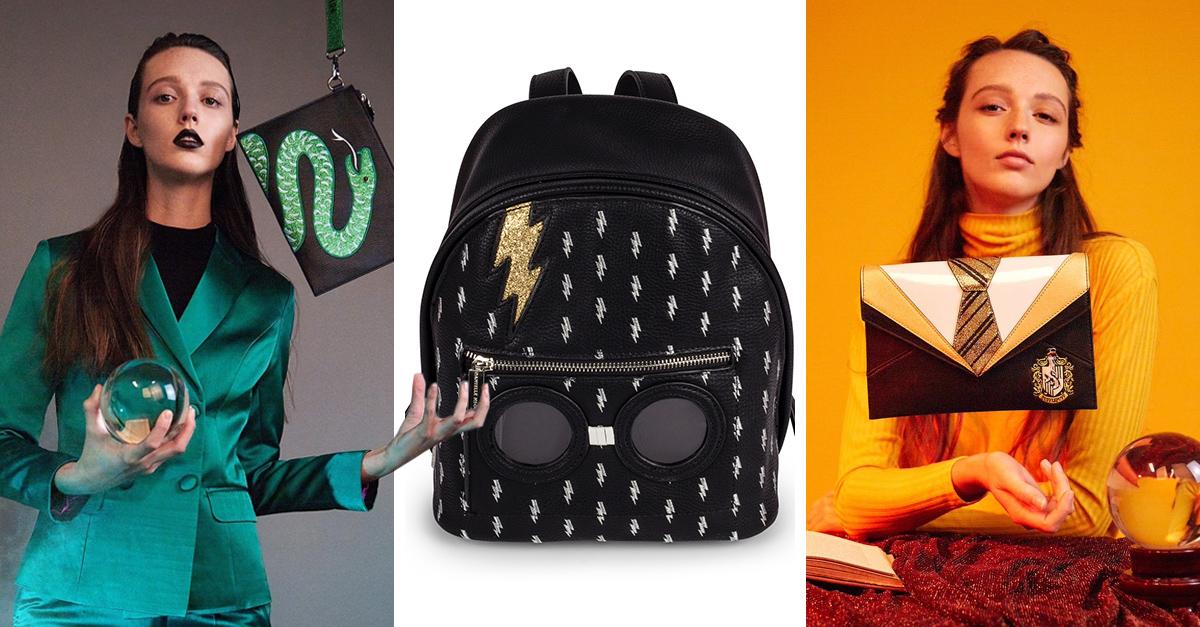 Estas bolsas inspiradas en Harry Potter son lo que necesitas si eres fanática del mago