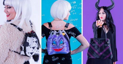 Estos bolsos inspirados en las villanas de Disney dejarán salir a la villana que llevas dentro