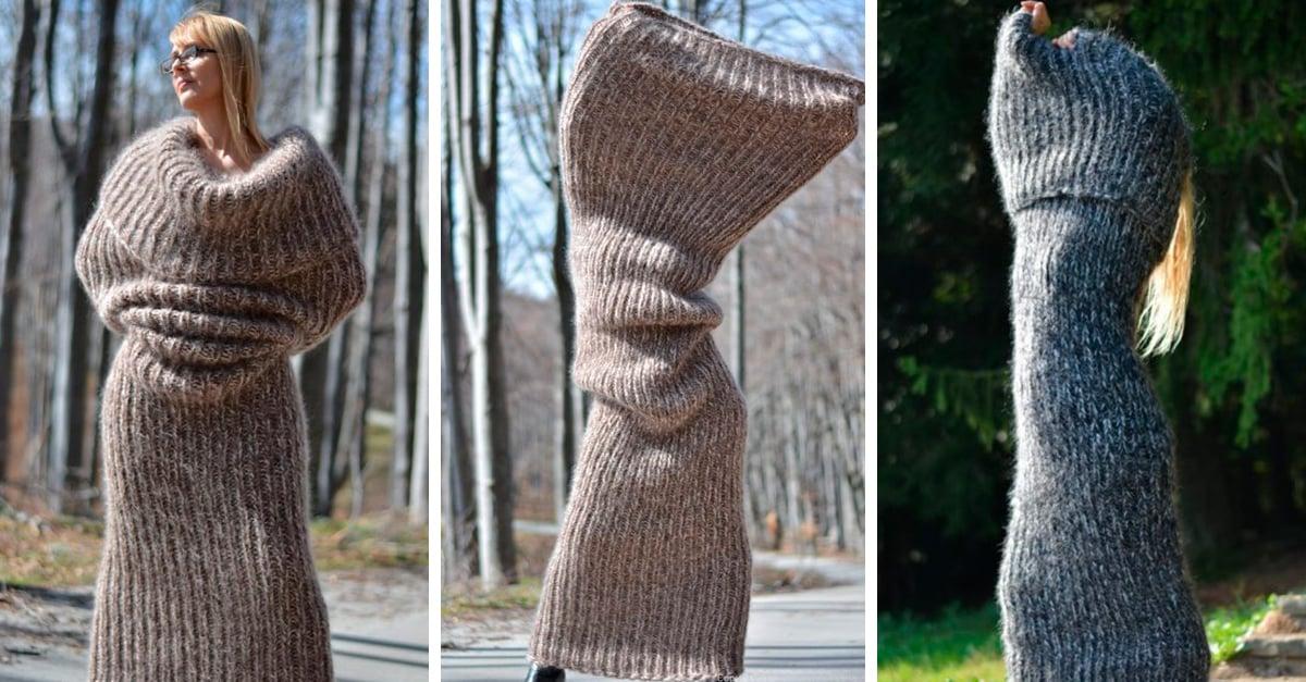 Esta bufanda gigante es la sensación en Instagram