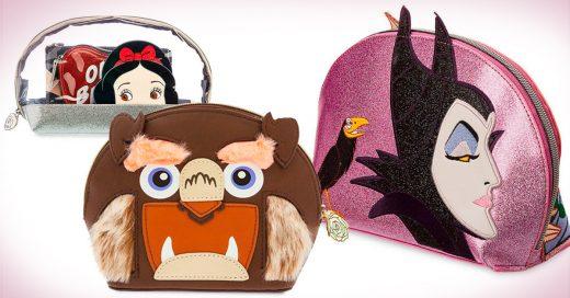 Increíbles diseños de cosmetiqueras inspiradas en las princesas de Disney que desearás tener