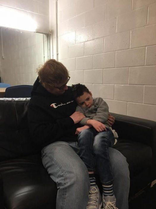 ed sheeran and ollie carroll