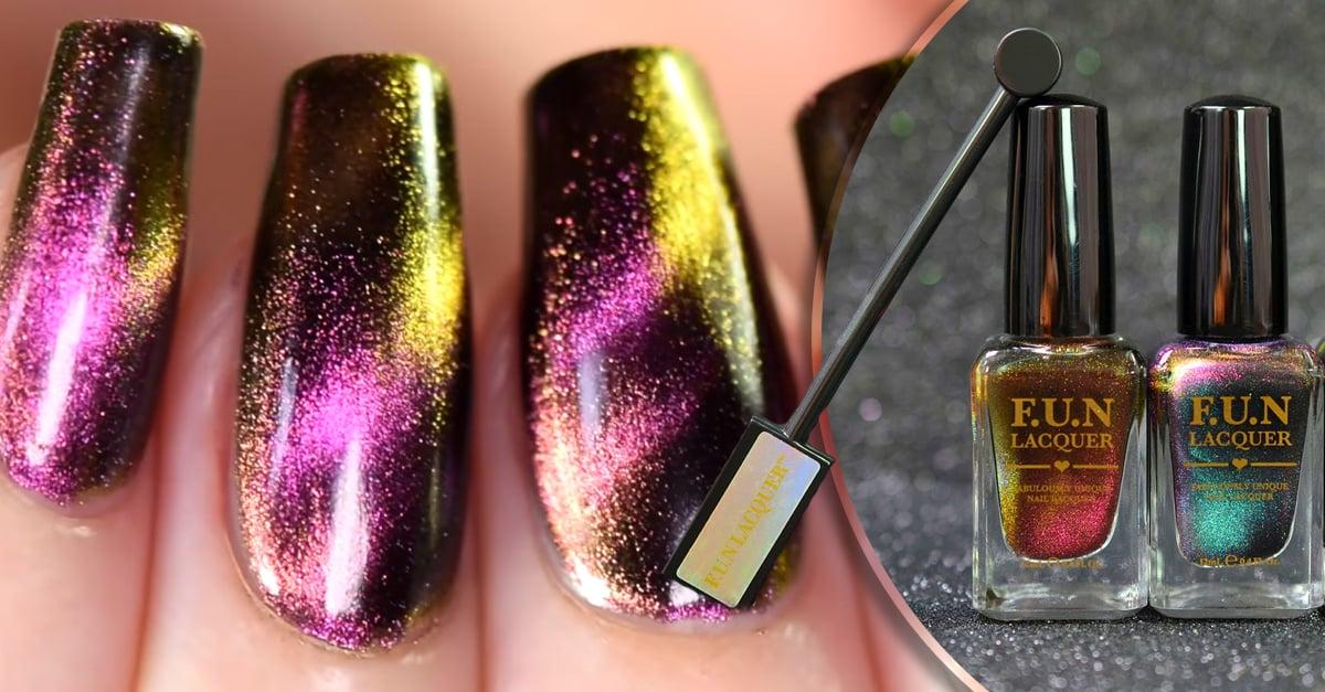 Este esmalte magnético que cambia de color te volverá loca