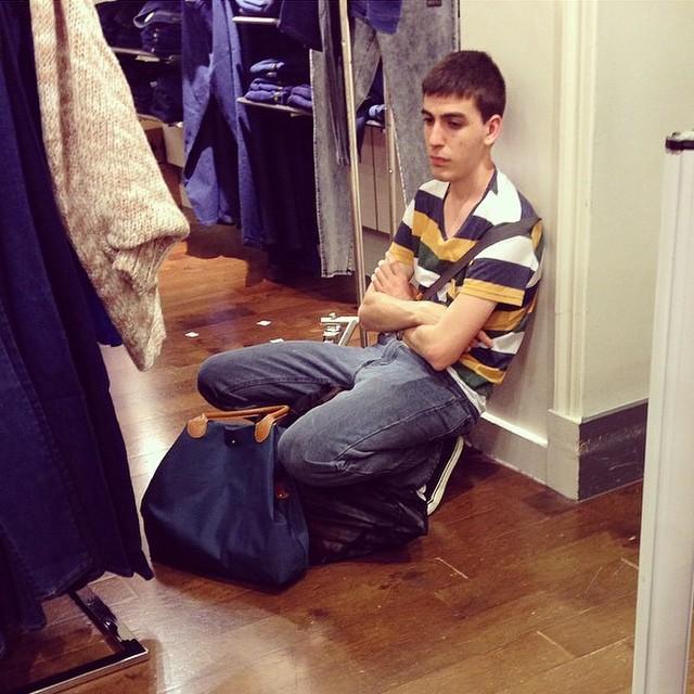 hombres odian la compras
