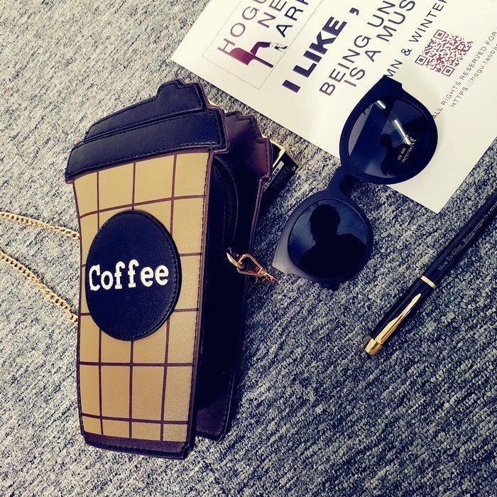 bolso en forma de café