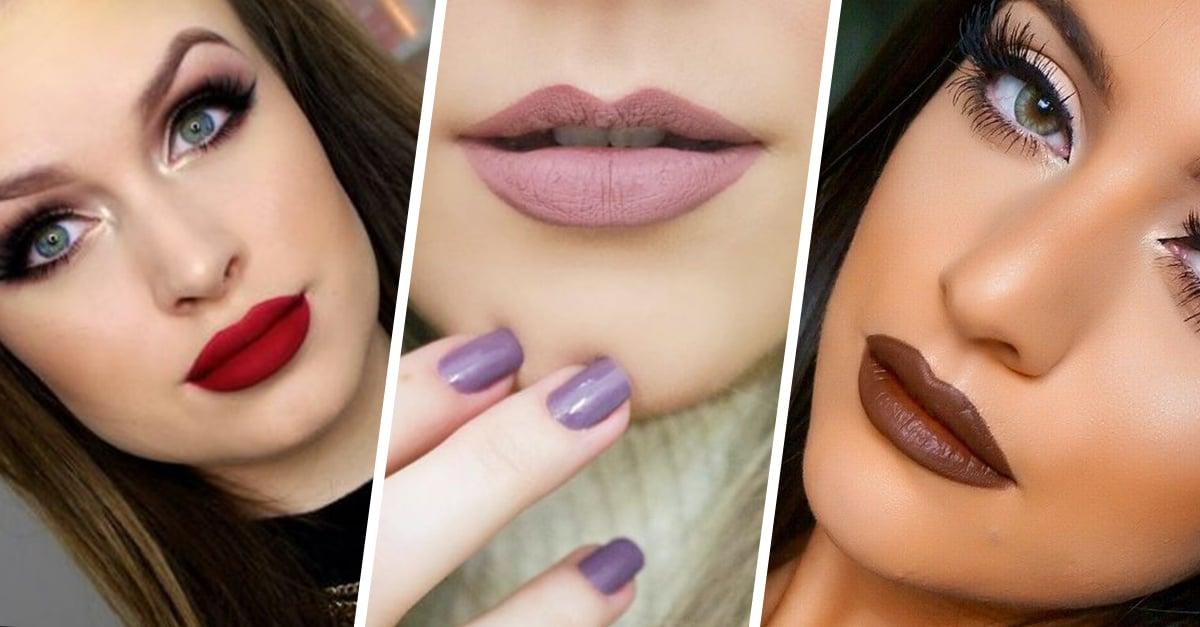 15 Increíbles tonos de labial que puedes usar este invierno; que el glamour nunca muera