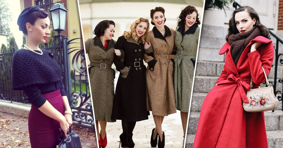 Looks de Pin-up invierno