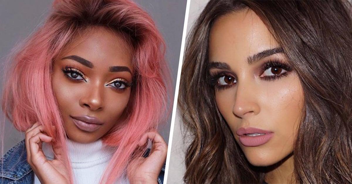Maquillaje rosa: el mejor look para morenas