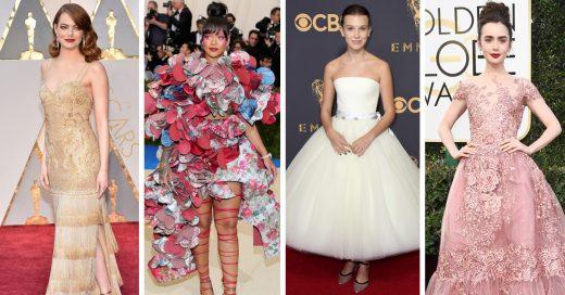 25 Vestidos de celebridades en la alfombra roja que dejó este 2017