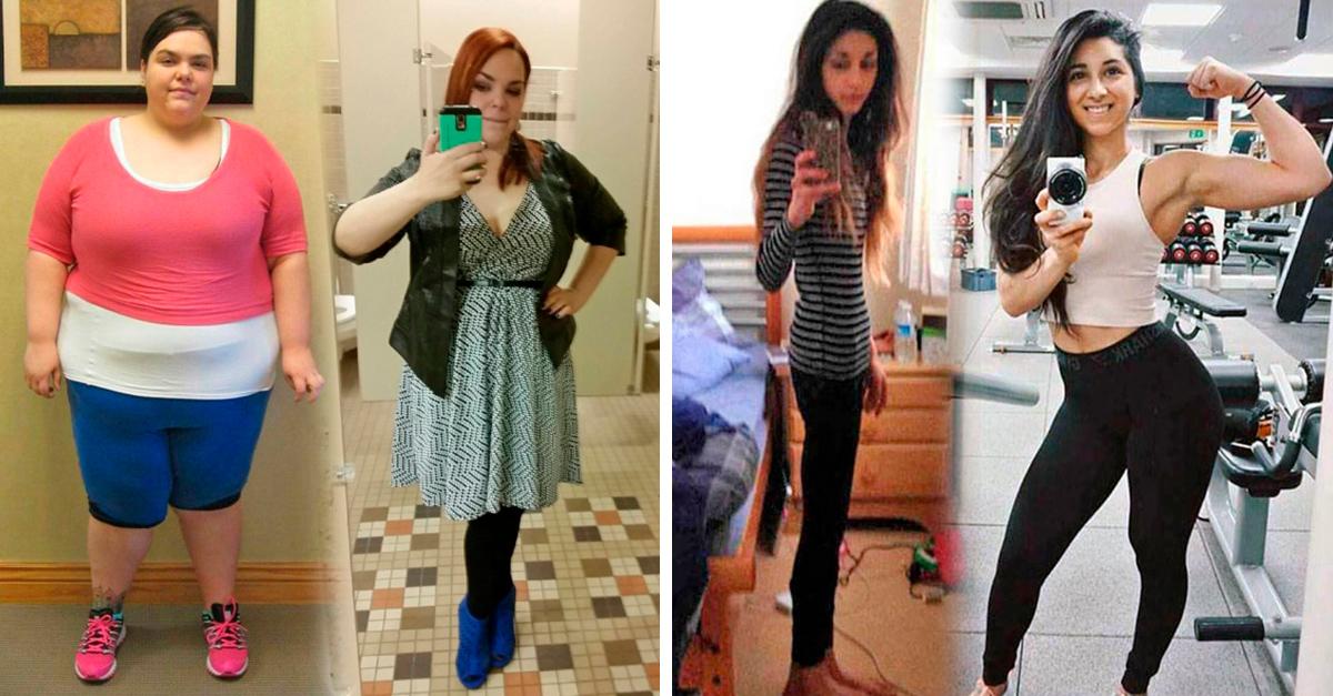 17 Chicas que lograron vencer sus malos hábito y ahora lucen irreconocibles; todas lograron sus metas