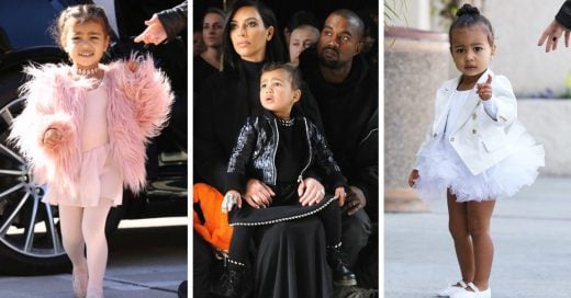 Kim Kardashian presume el lujoso guardarropa de North