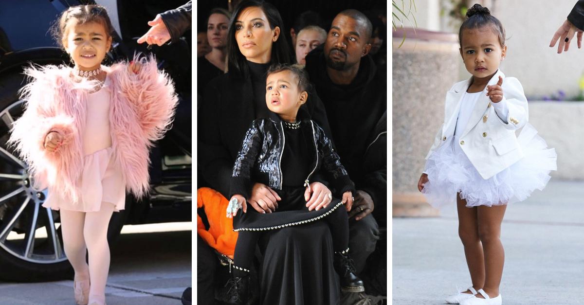 Kim Kardashian presume el lujoso guardarropa de North