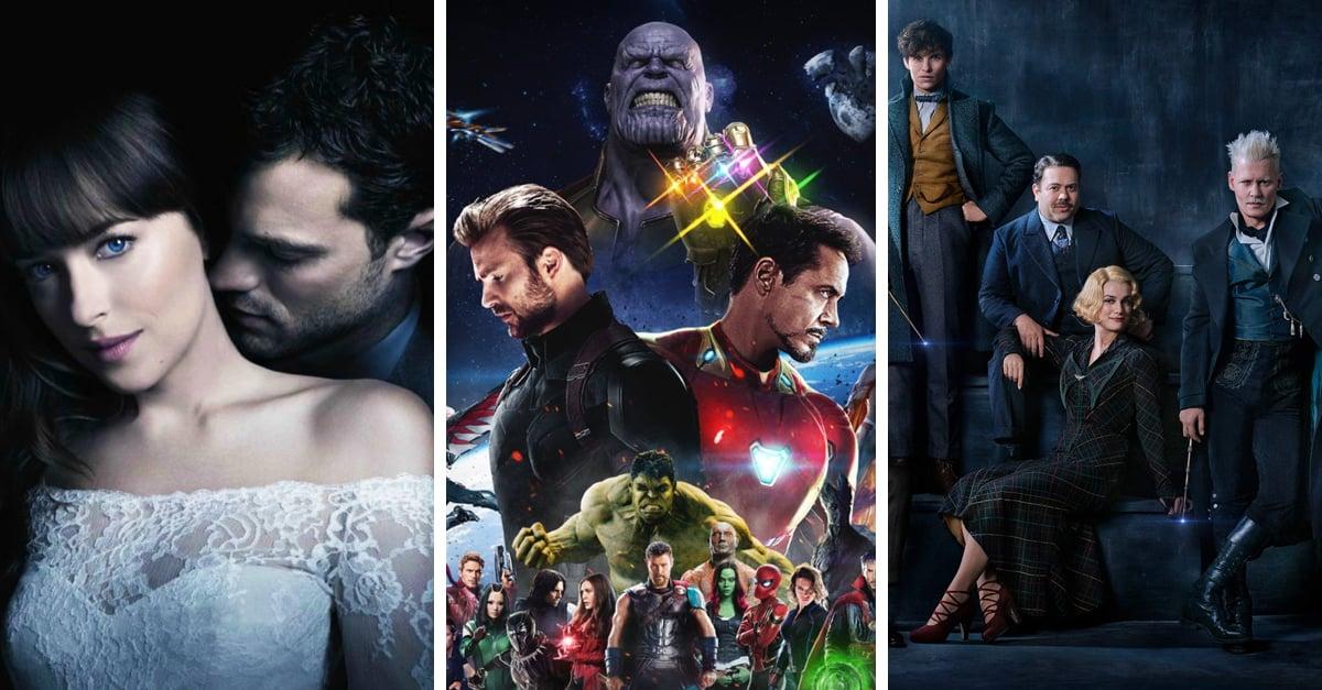 Películas que no debes perderte este 2018; es momento de convertirte en cliente frecuente