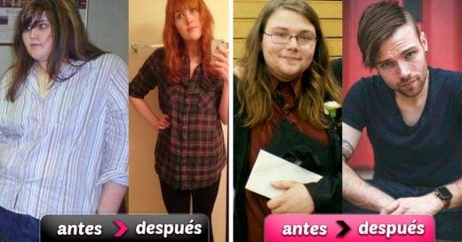 15 Personas que muestran su increíble cambio luego de perder peso
